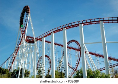 Loops and Loops--Roller Coaster, Viper