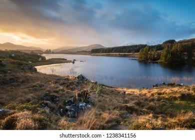 Looscaunagh Lough Killarney National Park