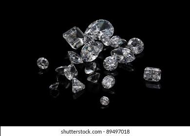Diamond Black Background Images Stock Photos Vectors Shutterstock