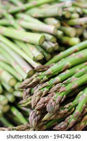 loose uncooked asparagus