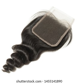 loose wave wavy black human hair weaves extensions lace closure