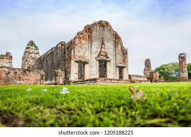 LOPBURI-THAILAND,archaeological site, Wat Phra Sri Rattana Mahathat Lop Buri Thailand