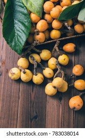 Loquat close up image