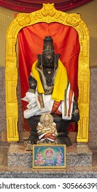 Lord Ayyappa, the third son of Lord Shiva and the mythical enchantress Mohini, is a popular Hindu deity worshiped mainly in South India, grants refuge to His devotees and protects them from all evils.