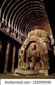 Lord Buddha at Ellora