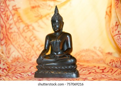 Lord Budha gold background