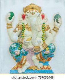 Lord Ganesha, God of Hindu, Religious Symbol