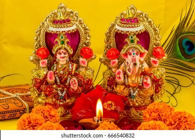 Ganesh Laxmi Images Stock Photos Vectors Shutterstock