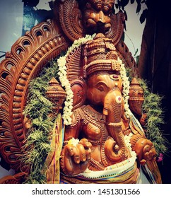Lord Ganesha, the son of Lord Shankar and Goddess Parvati and the brother of Lord Kartik, was born after Lord Shankar reincarnated a human body with the head of an elephant.