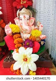 Lord Geneshji Puja indian Festival
