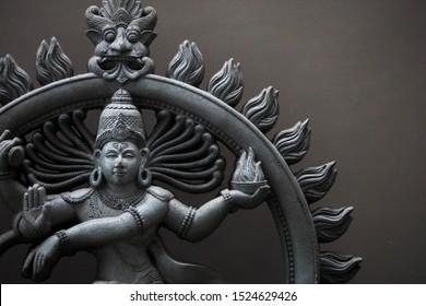 Lord nataraja Indian god statue