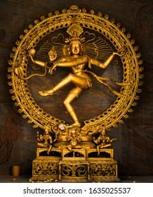 Lord Nataraja Shiva in Dancing Position taken in Omkar Hills Temple