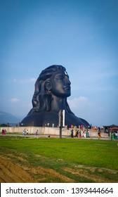 lord shiva as adiyogi at isha yoga Coimbatore