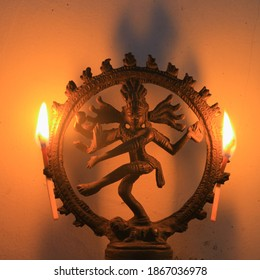 Lord Shiva with a sacred dance that is believed by Hindus