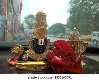 Lord Sri Venkateswara and Lord Ganesha