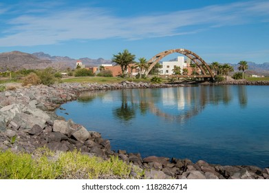 Loreto, Baja California Sur/MEXICO- Jul 22 2017: Sunny morning in LORETO, Baja California Sur. MEXICO