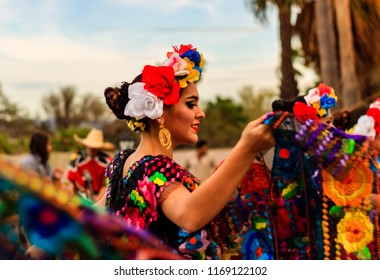 Loreto, Mexico - 2018 Folkloric dance on a beach in Loreto, Mexico.