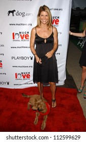 "Lori Loughlin at the ""Bow Wow Wow"" Celebrity Fundraiser For Much Love Animal Rescue. Playboy Mansion, Los Angeles, CA. 07-14-07"