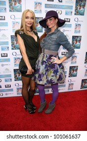 """Lorielle New and Phoebe Price  at a screening of """"Beneath the Blue"""" at the Hollywood Film Festival, Arclight, Hollywood, CA. 10-23-10"""