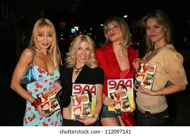 """Lorielle New and Riley Weston with Rena Riffel and Olja Hrustic at the DVD Release Party for """"The Dukes of Hazzard: The Beginning"""".  The Forbidden City, Hollywood, CA. 03-21-07"""