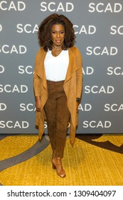 Lorraine Toussaint - attends the press Junket during the SCAD aTVfest 2019 at the Four Seasons Hotel on February 09th, 2019 in Atlanta, Georgia