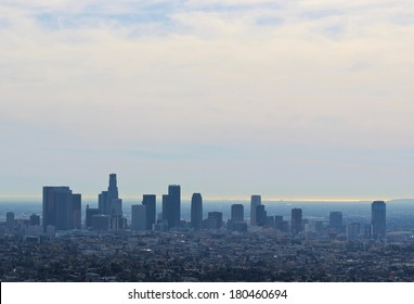 los angelas skyline