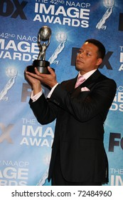 LOS ANGELES -  4: Terrance Howard in the Press Room of the 42nd NAACP Image Awards at Shrine Auditorium on March 4, 2011 in Los Angeles, CA