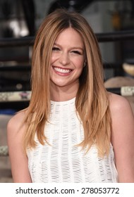 """LOS ANGELES - APR 06:  Melissa Benoist arrives to the """"The Longest Ride"""" Los Angeles Premiere  on April 06, 2015 in Hollywood, CA"""