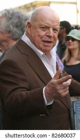 LOS ANGELES - APR 10: Don Rickles at a ceremony where Regis Philbin receives the 2222th star in Los Angeles, California on April 10, 2003