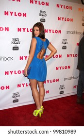 LOS ANGELES - APR 10:  Electra Avellan arrives at the NYLON Magazine 13th Anniversary Celebration at Smashbox on April 10, 2012 in Los Angeles, CA
