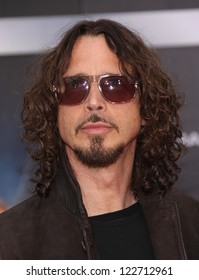 "LOS ANGELES - APR 11:  Chris Cornell ""The Avengers"" World Premiere  on April 11, 2012 in Hollywood, CA"