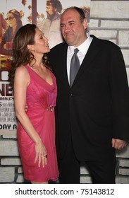 "LOS ANGELES - APR 11:  Diane Lane & James Gandolfini arrives to ""Cinema Verite"" Los Angeles Premiere on April 11, 2011 in Hollywood, CA"