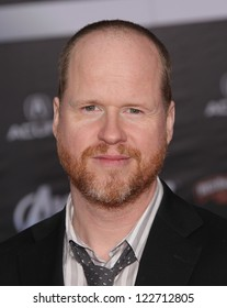 """LOS ANGELES - APR 11:  Joss Whedon """"The Avengers"""" World Premiere  on April 11, 2012 in Hollywood, CA"""