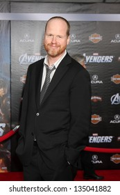 """LOS ANGELES - APR 11:  Joss Whedon arrives at """"The Avengers"""" Premiere at El Capitan Theater on April 11, 2012 in Los Angeles, CA"""