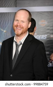 "LOS ANGELES - APR 11:  Joss Whedon arrives at ""The Avengers"" Premiere at El Capitan Theater on April 11, 2012 in Los Angeles, CA"