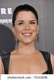 "LOS ANGELES - APR 11:  Neve Campbell arrives to ""Scream 4"" World Premiere  on April 11, 2011 in Hollywood, CA"