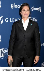 LOS ANGELES - APR 12:  Dana Goldberg at GLAAD Media Awards Los Angeles at Beverly Hilton Hotel on April 12, 2018 in Beverly Hills, CA