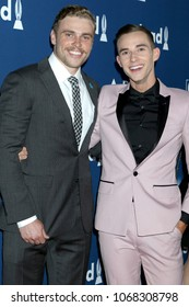 LOS ANGELES - APR 12:  Gus Kenworthy, Adam Rippon at GLAAD Media Awards Los Angeles at Beverly Hilton Hotel on April 12, 2018 in Beverly Hills, CA