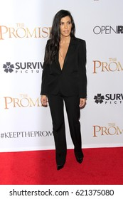 """LOS ANGELES - APR 12:  Kourtney Kardashian at the """"The Promise"""" Premiere at the TCL Chinese Theater IMAX on April 12, 2017 in Los Angeles, CA"""