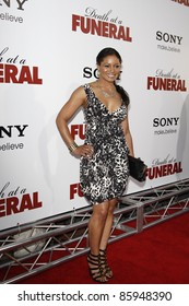 LOS ANGELES - APR 12: Lauren Velez at the World Premiere of 'Death At A Funeral' held at the Arclight Theater in Los Angeles, California on April 12, 2010