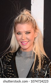 """LOS ANGELES - APR 12:  Tara Reid at the """"Blumhouse's Truth Or Dare"""" Premiere at Cinerama Dome on April 12, 2018 in Los Angeles, CA"""