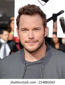 LOS ANGELES - APR 13:  Chris Pratt arrives to the 2014 MTV Movie Awards  on April 13, 2014 in Los Angeles, CA.