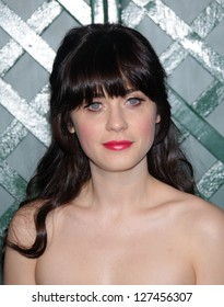 """LOS ANGELES - APR 13:  ZOOEY DESCHANEL arriving to """"My Valentine"""" World Premiere  on April 13, 2012 in Beverly Hills, CA"""