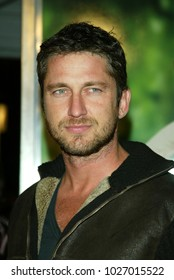 """LOS ANGELES - APR 14:  Gerard Butler arrives to the """"13 Going on 30"""" Los Angeles Premiere  on April 14, 2004 in Westwood, CA"""