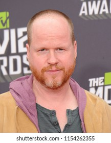 LOS ANGELES - APR 14:  Joss Whedon arrives to the MTV Movie Awards 2013  on April 14, 2013 in Hollywood, CA