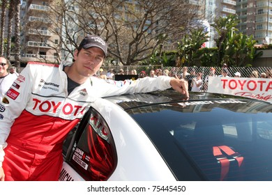 LOS ANGELES - APR 16:  Michael trucco attends the Toyota Grand Prix Pro Celeb Race at the Toyota Grand Prix Track on April 16, 2011 in Long Beach, CA.