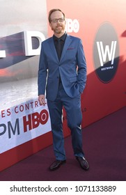 "LOS ANGELES - APR 16:  Ptolemy Slocum arrives for HBO's ""Westworld"" Season 2 Premiere on April 16, 2018 in Hollywood, CA"