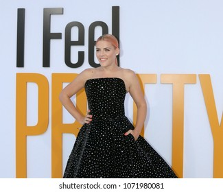 "LOS ANGELES - APR 17:  Busy Philipps at the ""I Feel Pretty"" World Premiere at Village Theater on April 17, 2018 in Westwood, CA"