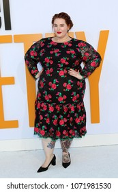 "LOS ANGELES - APR 17:  Tess Holliday at the ""I Feel Pretty"" World Premiere at Village Theater on April 17, 2018 in Westwood, CA"