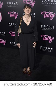 """LOS ANGELES - APR 18:  Diablo Cody arrives to the""""Tully"""" Los Angeles Premiere  on April 18, 2018 in Hollywood, CA"""